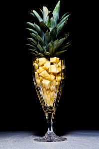 Pineapple in Crystal