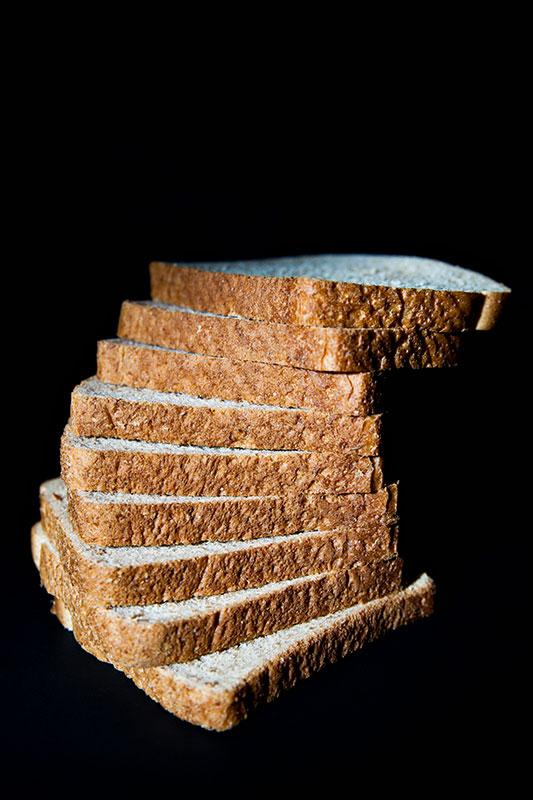 Sliced Bread Staircase