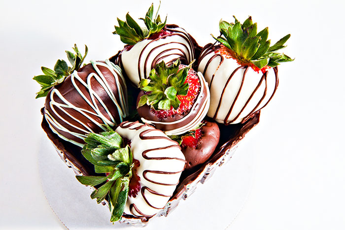 Chocolate Box and Strawberries