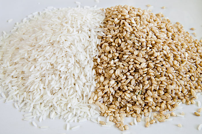 Brown & White Rice