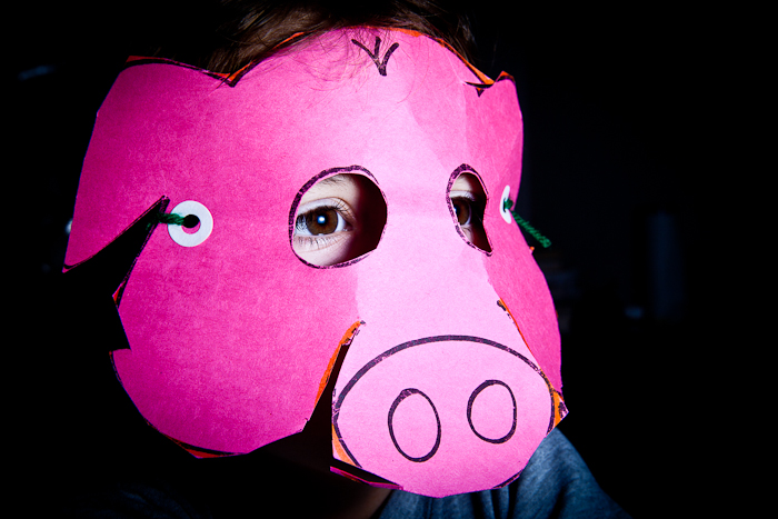 Pig Mask | Project 365: Day 236