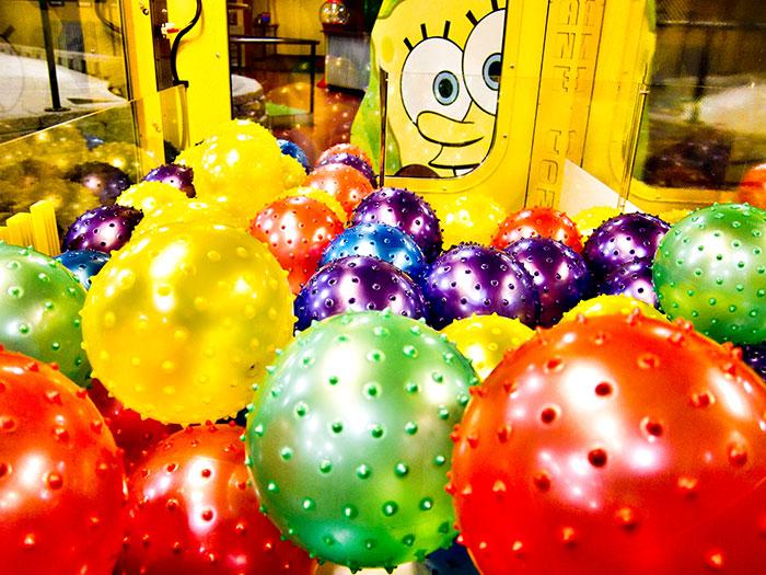 Peek-A-Boo SpongeBob