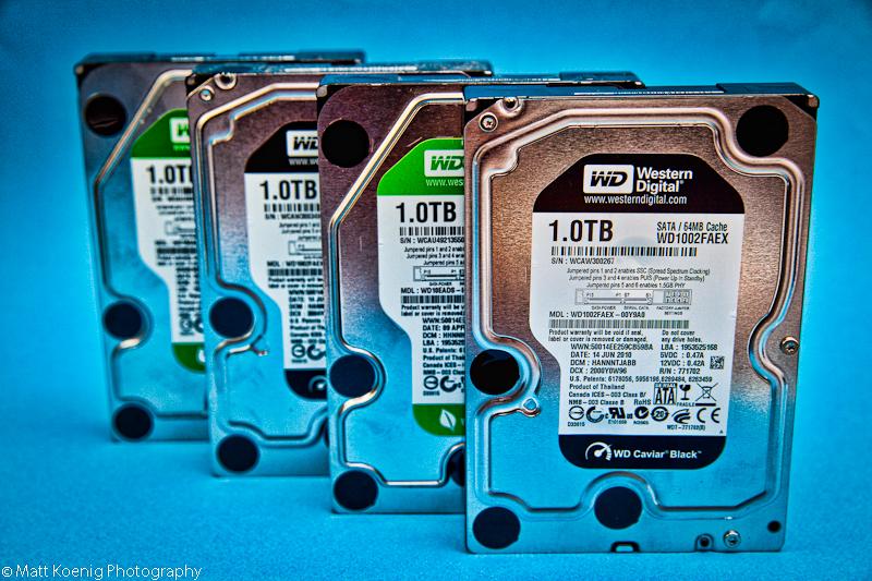 1.0TB Hard Drives