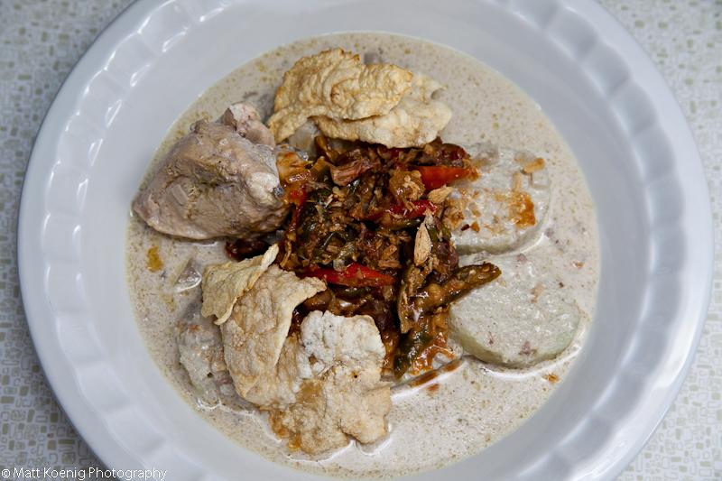 Braised Chicken in Coconut Milk