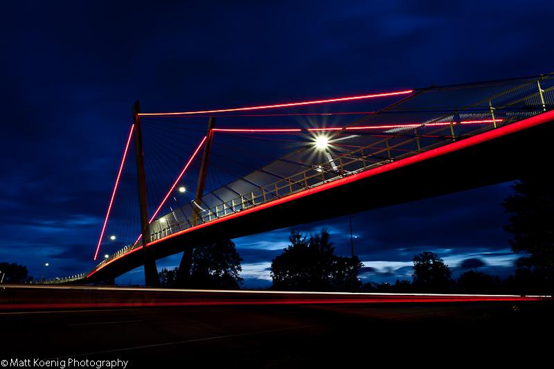 Delta Ponds Pedestrian Bridge - Eugene, Oregon