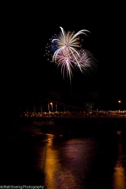 Fireworks - Alton Baker Park