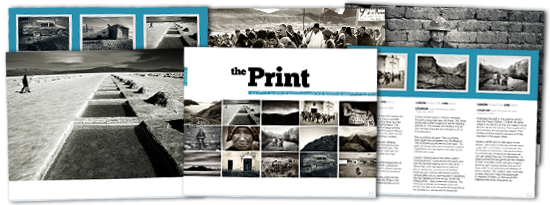 Andes: The Print & The Process Series by Andrew Gibson