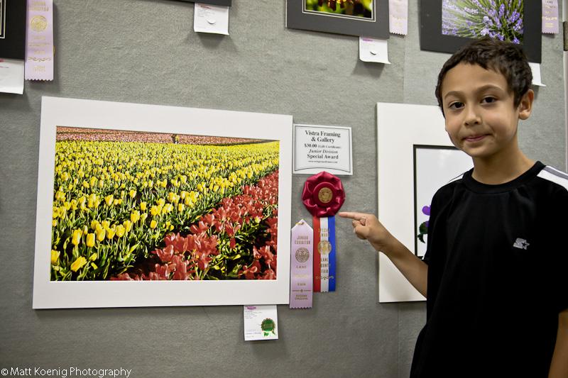 Special Award at the Lane County Fair