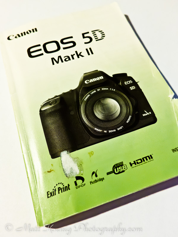 Read the manual for your camera