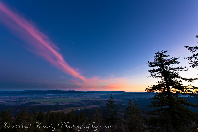 Spencer Butte Sunset
