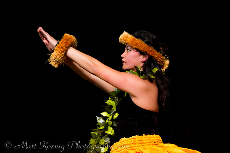 Hawaiian dancer at Oregon Asian Celebration