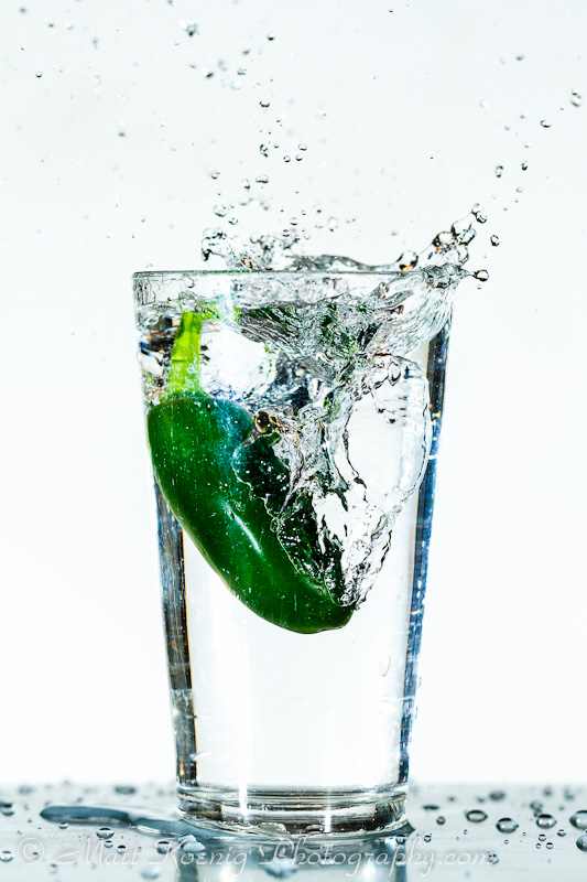 High Speed Jalapeno Splash