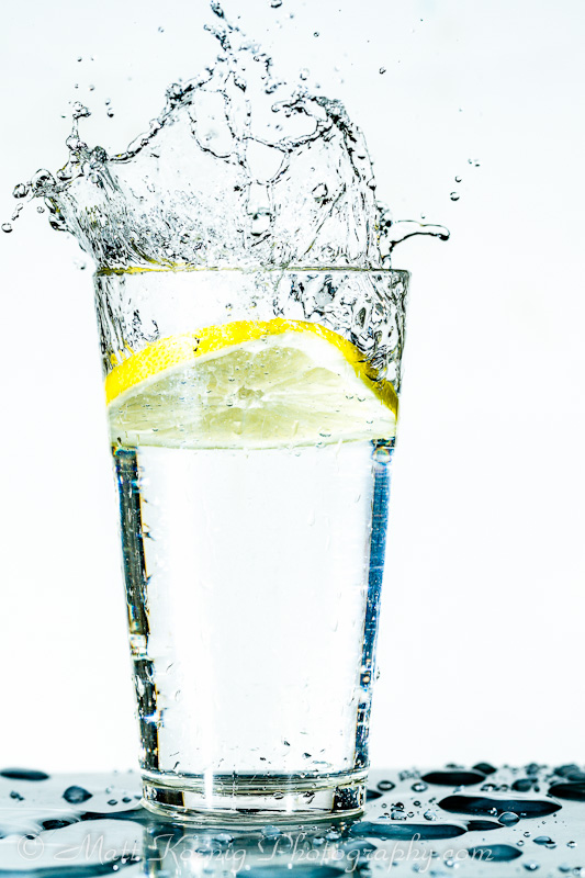 High Speed Lemon Splash