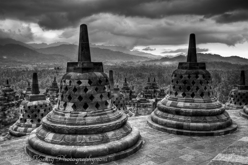 Borobudur Central Java Indonesia