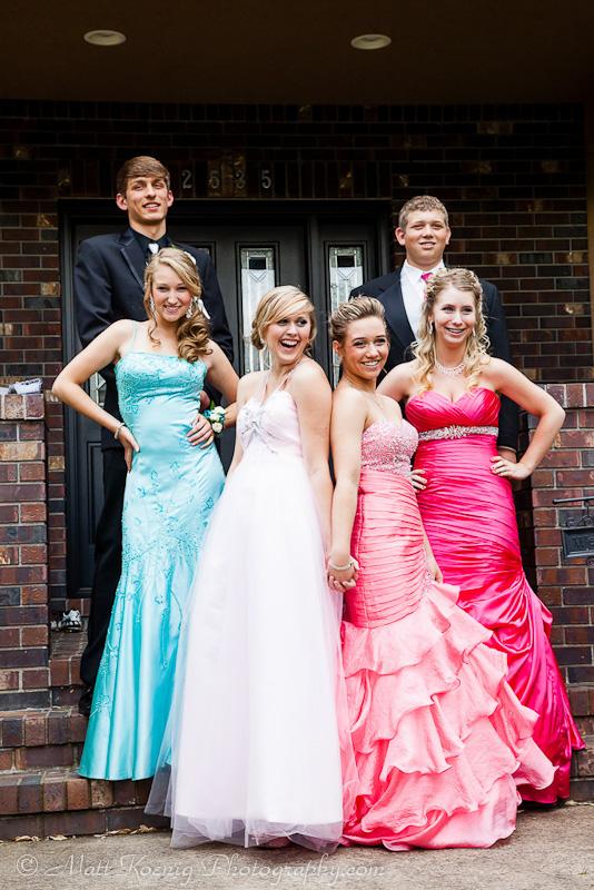 Brenten & Macy Thurston Prom 2012