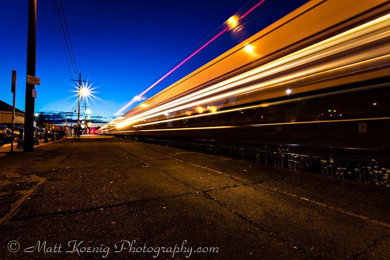 Monday Photo Inspiration - Train in Motion